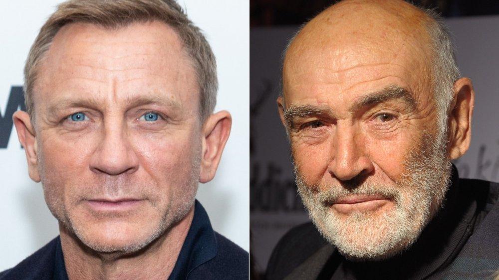 Daniel Craig, Sean Connery