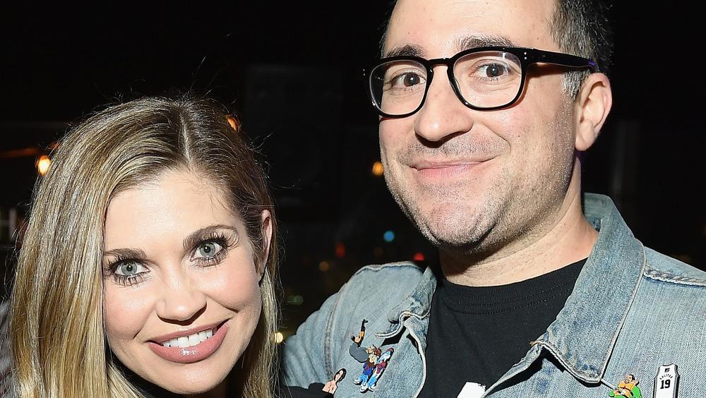 Danielle Fishel poses with husband Jensen Karp