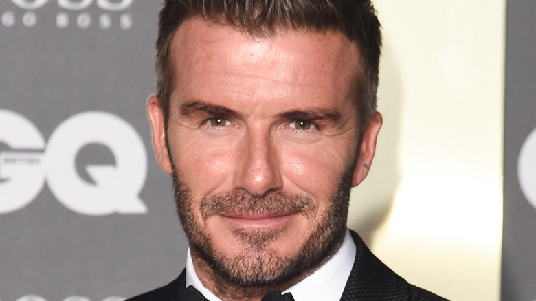 David Beckham at event