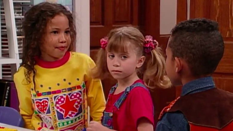 Denise and Michelle on Full House