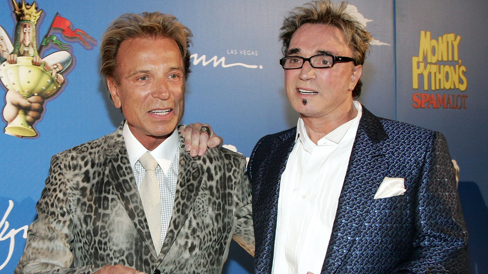 Siegfried and Roy at premier