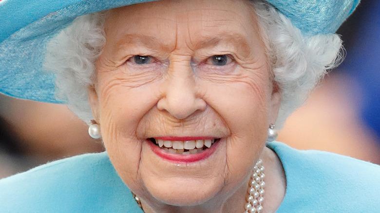 Queen Elizabeth attending an event