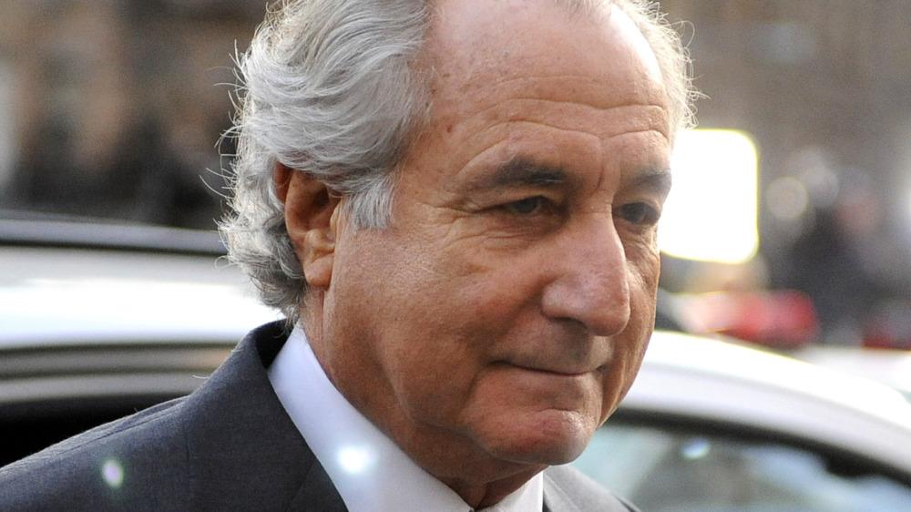 Bernie Madoff walking