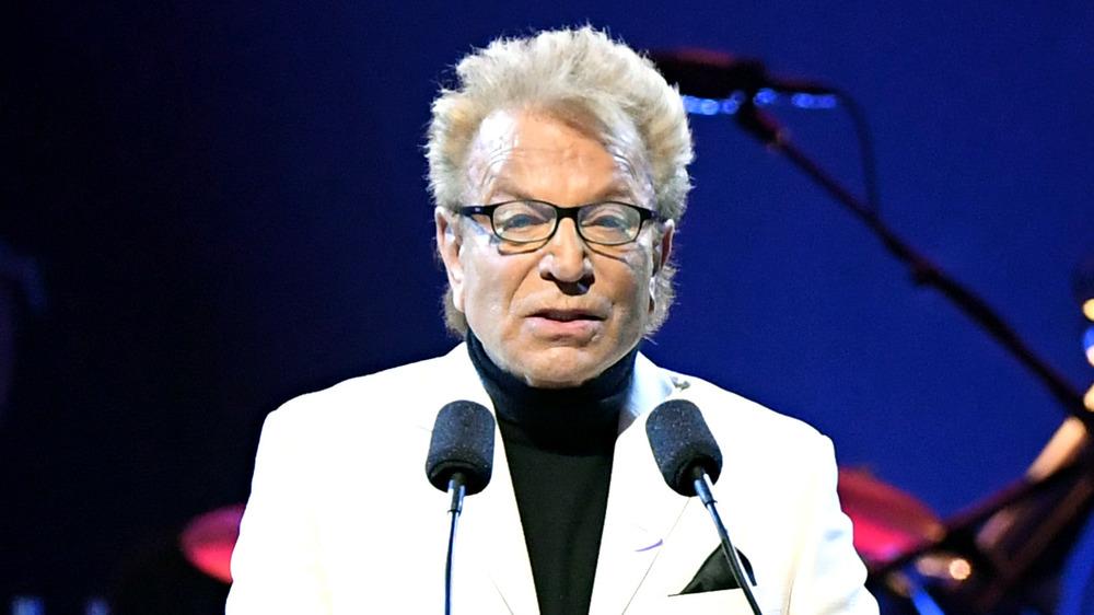 Siegfried Fischbacher speaking