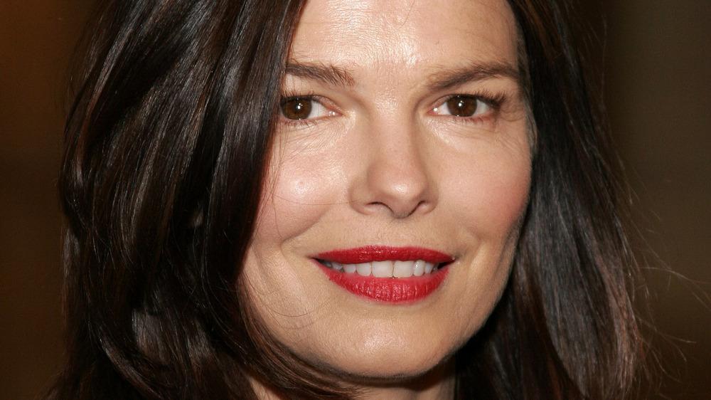 Jeanne Tripplehorn smiling