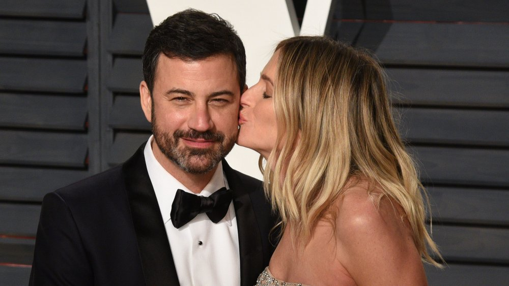 Jimmy Kimmel and his wife, Molly McNearney