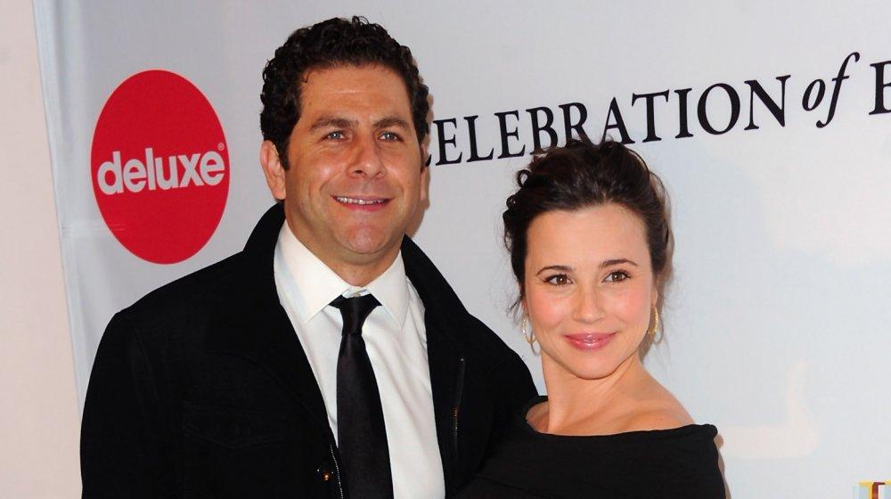Linda Cardellini and her husband Steven Rodriguez