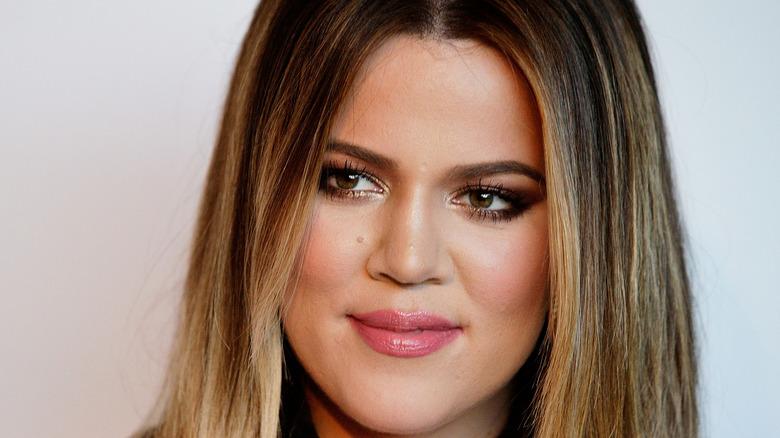 Khloé Kardashian at an event
