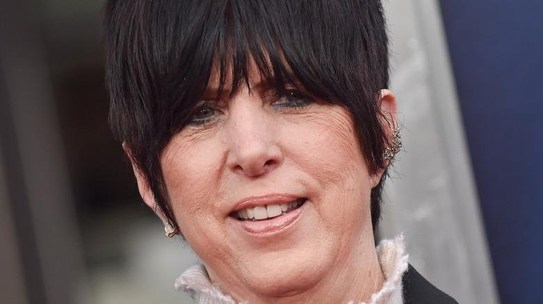 Diane Warren on the red carpet