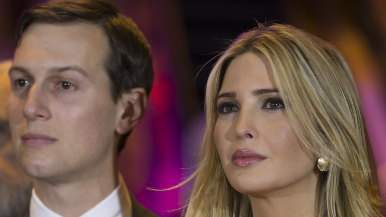 Jared Kushner and Ivanka Trump at an event