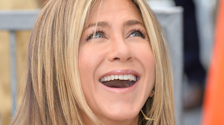 Jennifer Aniston laughing