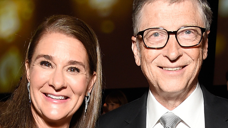 Bill and Melinda Gates at event