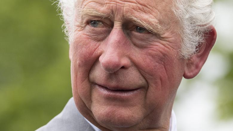 close up of Prince Charles