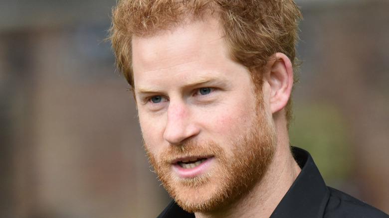 Prince Harry attends an event
