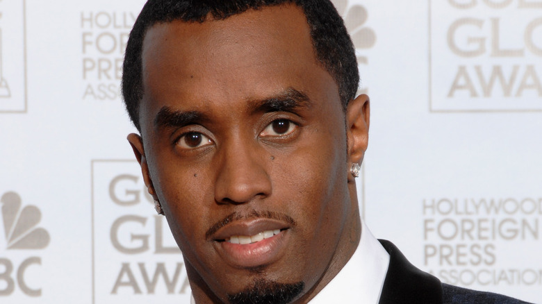 Diddy at Golden Globes