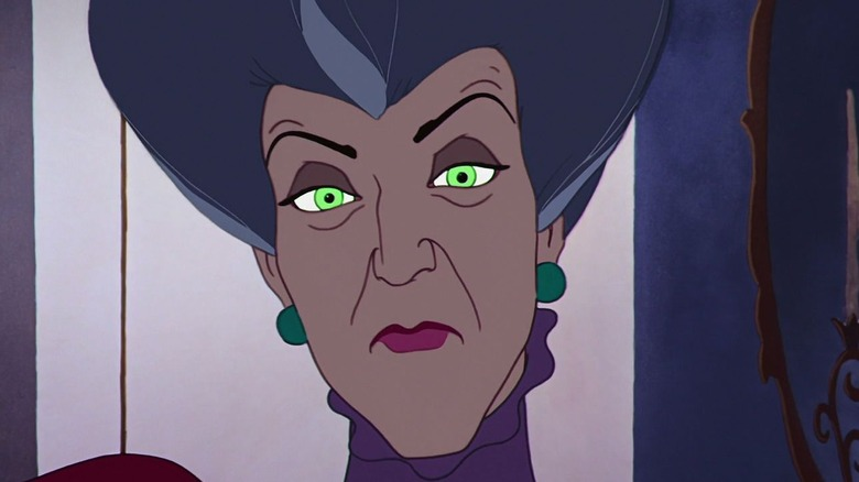 "The stepmother in ""Cinderella"""