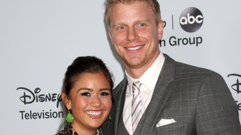 Sean and Catherine Lowe smile together