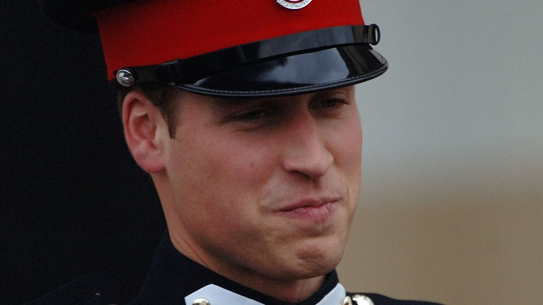 Prince William at Sandhurst graduation in 2006
