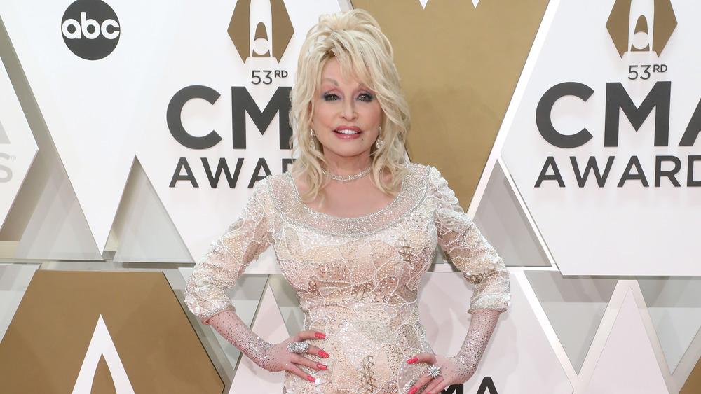 Dolly Parton at CMA Awards