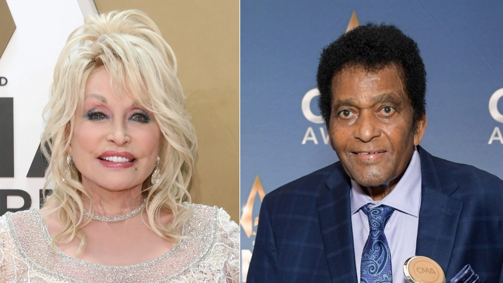 Dolly Parton and Charley Pride