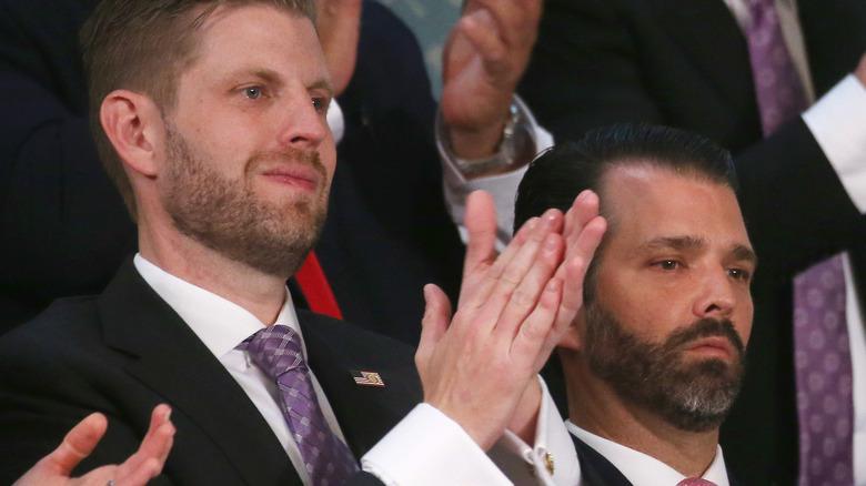 Don Jr. and Eric Trump