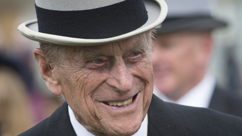 Prince Philip in top hat