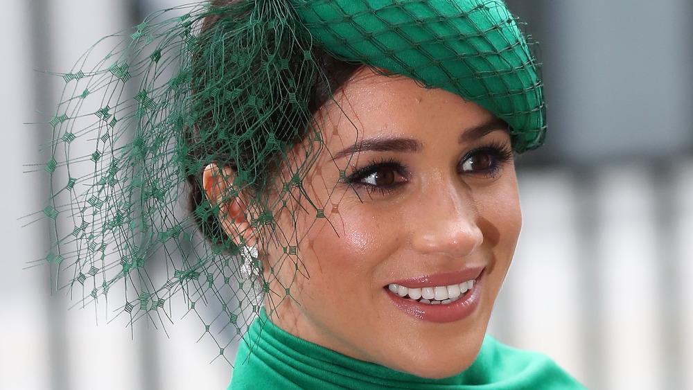Meghan Markle in green