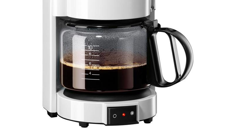 Coffee pot in coffeemaker