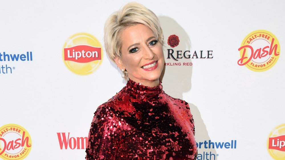 Dorinda Medley smiling on a red carpet