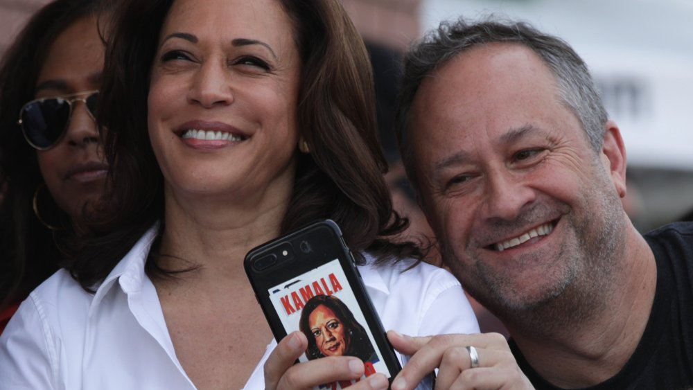 Kamala Harris and Doug Emhoff