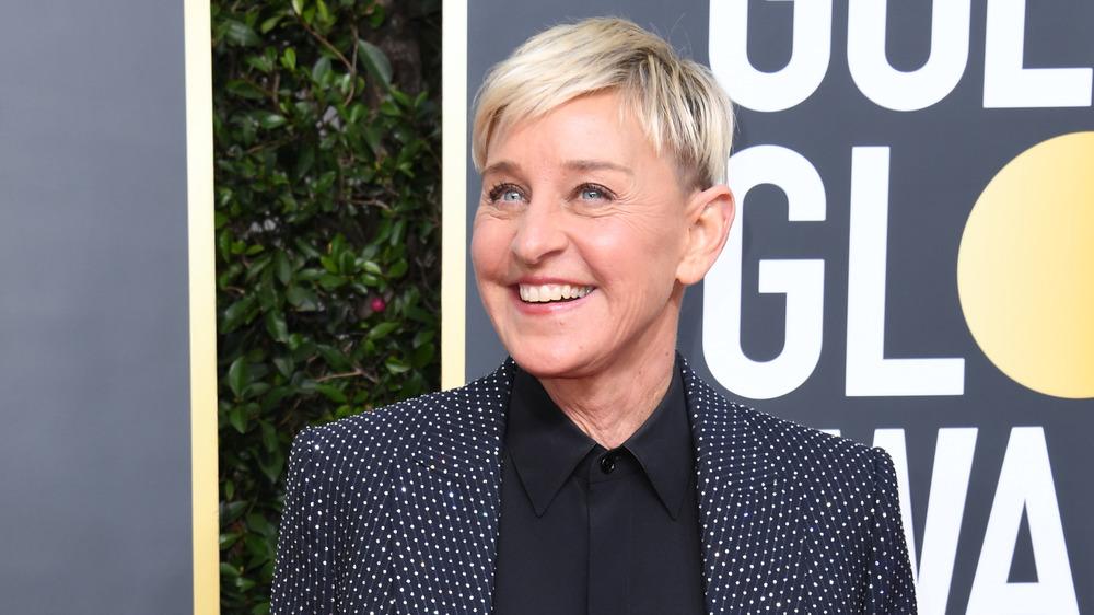 Ellen DeGeneres in blazer