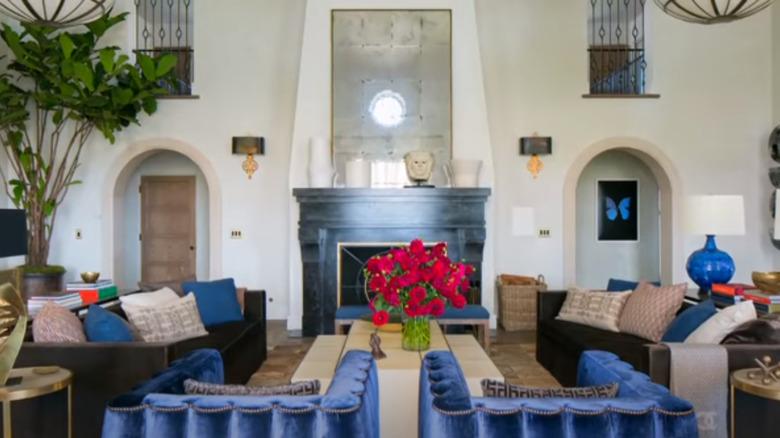 View of Actor, Ellen Pompeo's living room