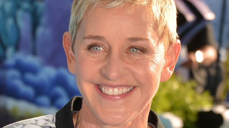 Ellen DeGeneres attending an event