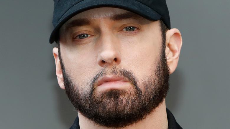 Eminem on the red carpet