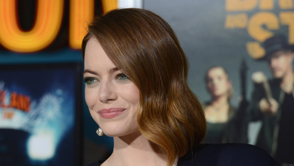 Emma Stone attends event