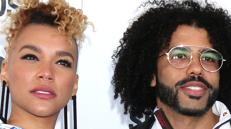 Emmy Raver-Lampman and Daveed Diggs