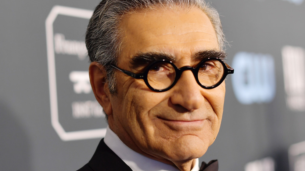 Eugene Levy on the red carpet