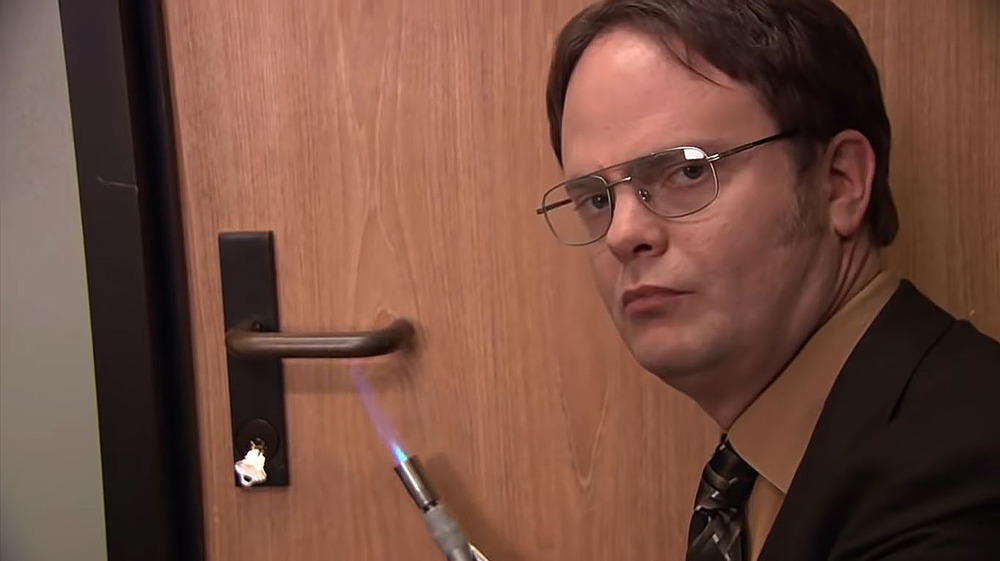 The Office fire drill episode