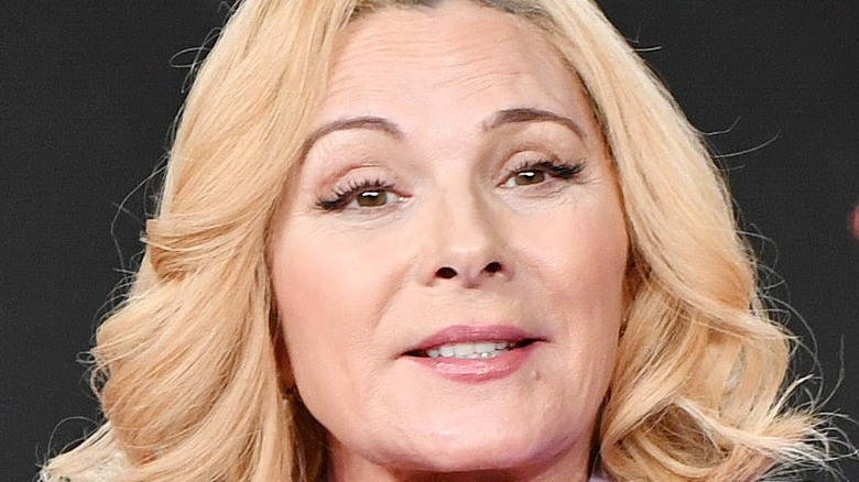 Kim Cattrall at event