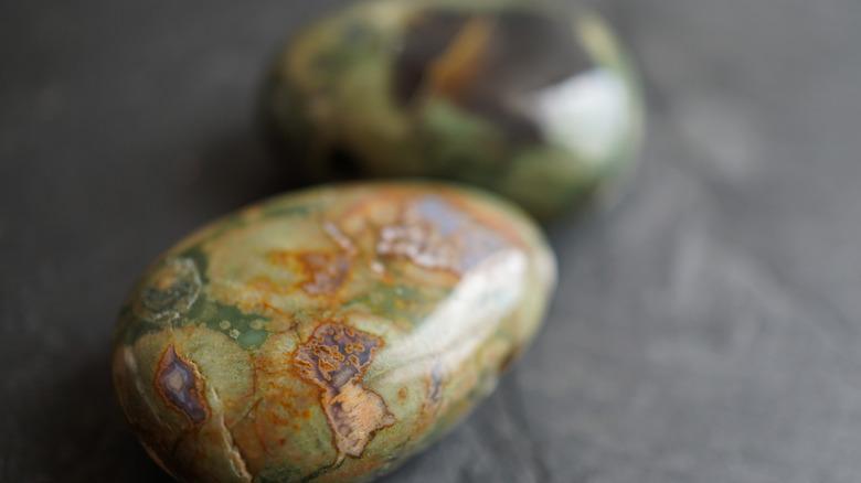smooth ocean jasper stones