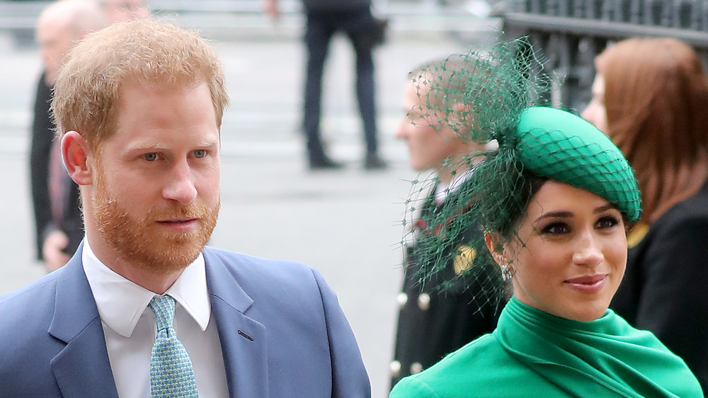 Prince Harry and Meghan Markle attend an event together