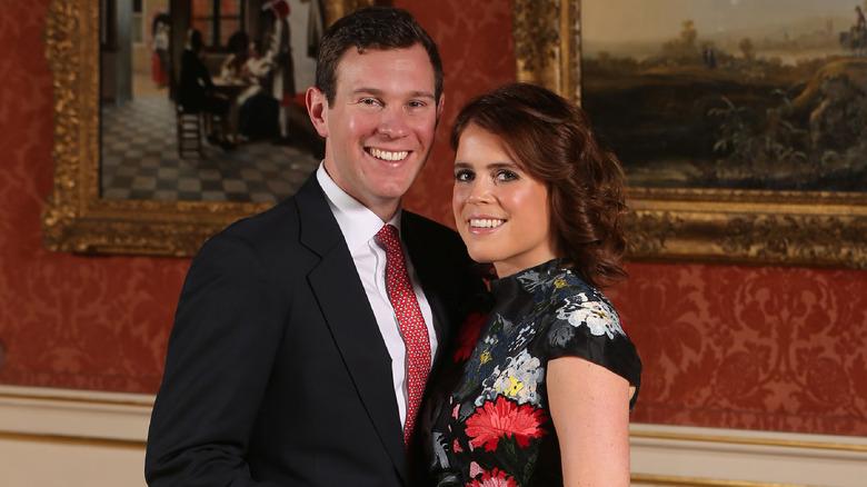 Jack Brooksbank Princess Eugenie engagement portrait