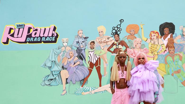 RuPaul's Drag Race mural