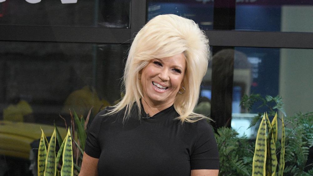 Teresa Caputo in black shirt
