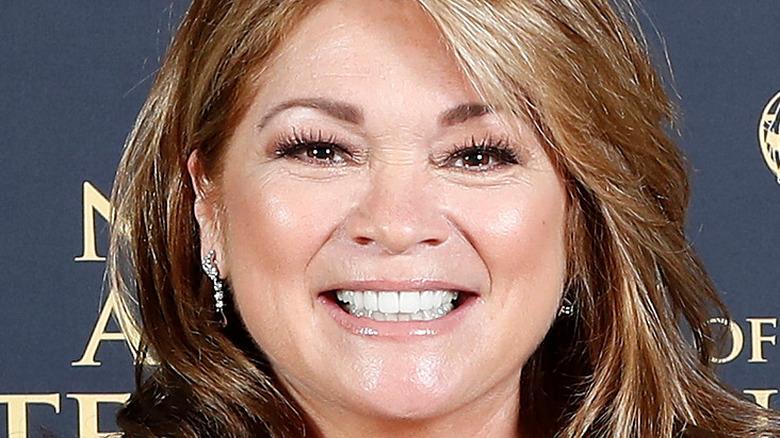 Valerie Bertinelli smiling