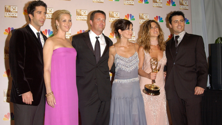 The original cast members from Friends