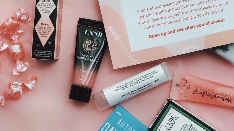 Beauty subscription box
