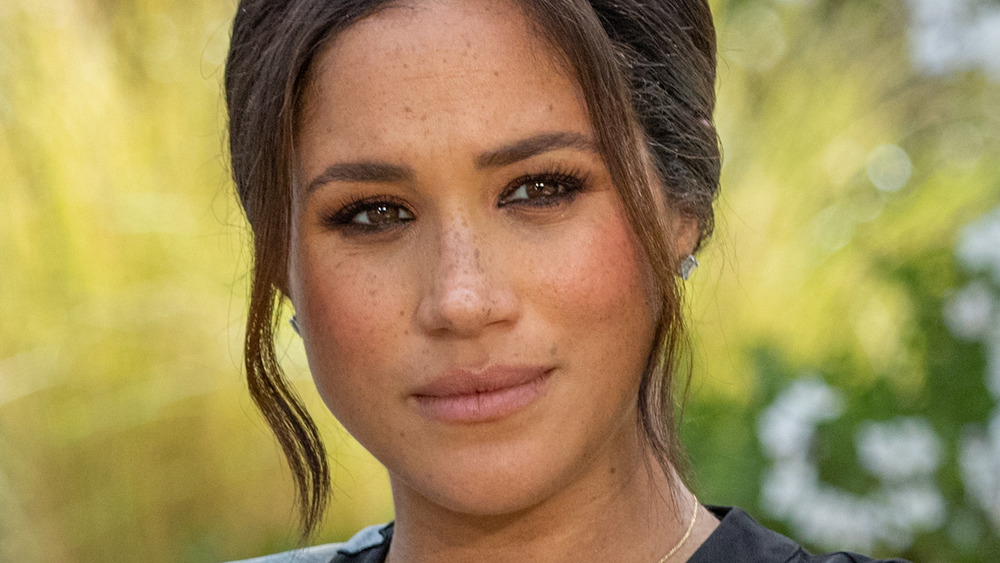 Meghan Markle during an interview