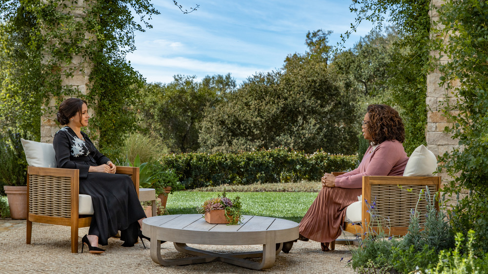 Meghan interviews with Oprah