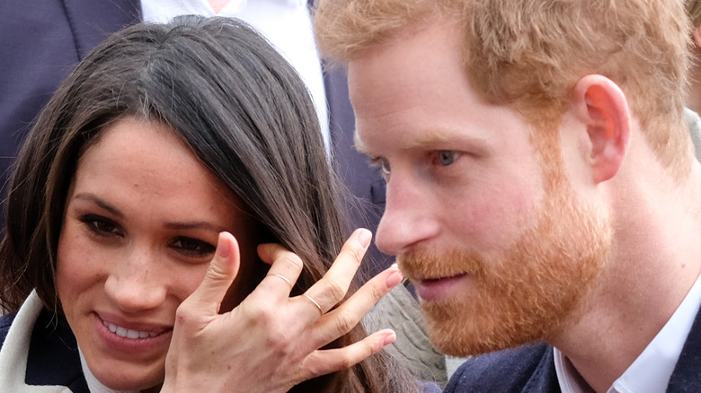 Harry and Meghan in Cardiff, Wales
